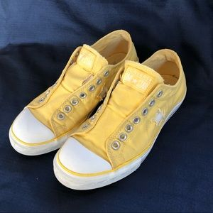 Converse One Star Elastic size 10 yellow